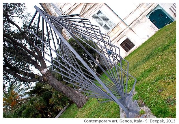 Contemporary art museum villa croce, Genoa, Italy - S. Deepak, 2013