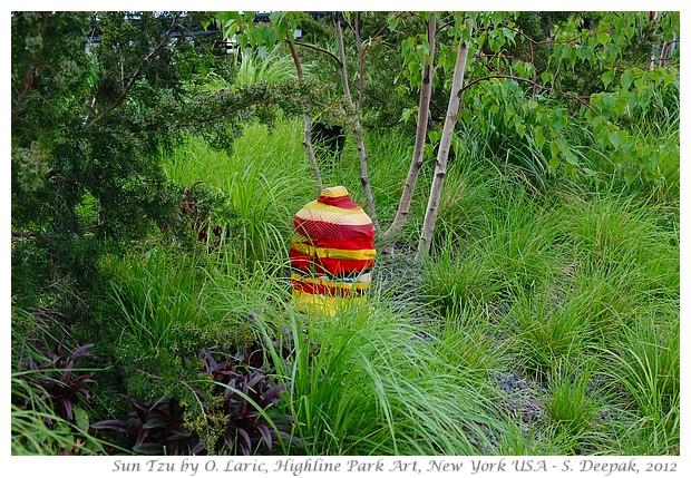 Art in Highline Park, New York USA - S. Deepak, 2012