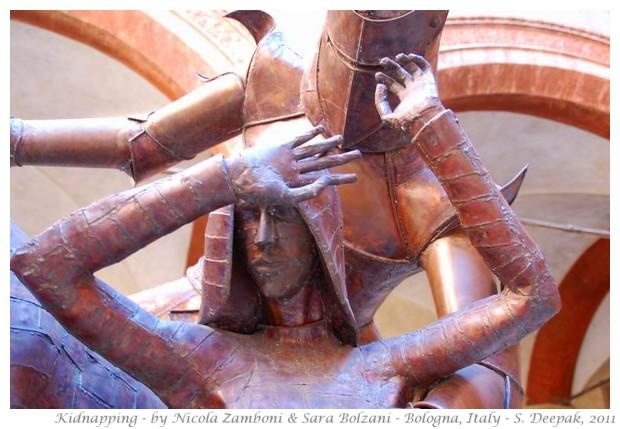 Sculptures by Nicola Zamboni & Sara Bolzani, Italy - S. Deepak, 2011