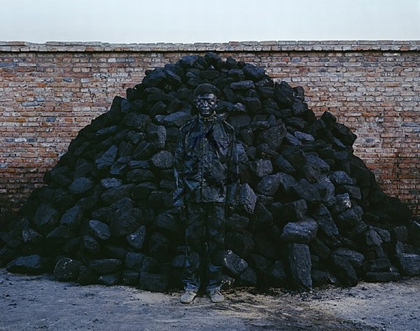 Special body art of Liu Bolin