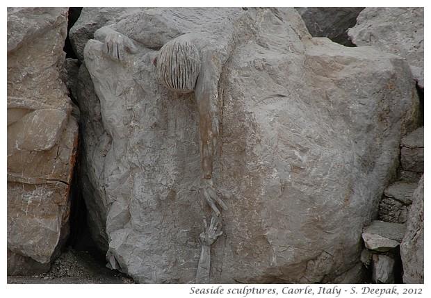 Marine memorial sculpture, Caorle Italy - S. Deepak, 2009