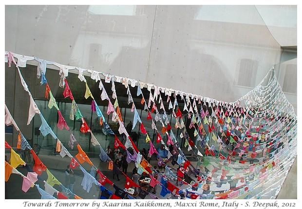 Art installation, Maxxi Rome, Italy - S. Deepak, 2012