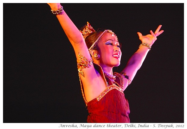 Maya dance theater, Singapore performance in Delhi, India - S. Deepak, 2012
