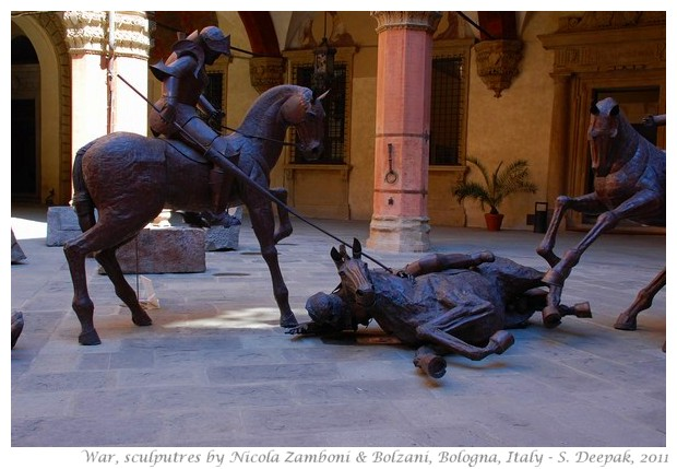 Sculptures by Nicola Zamboni & Sara Bolzani, Bologna, Italy - S. Deepak, 2011