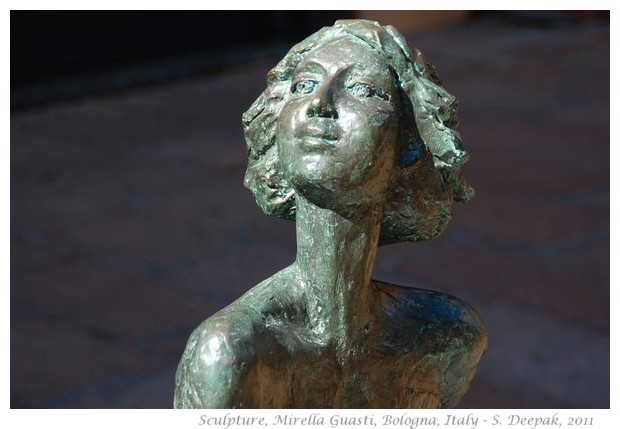 Sculptures by Mirella Guasti, Bologna, Italy - images by S. Deepak