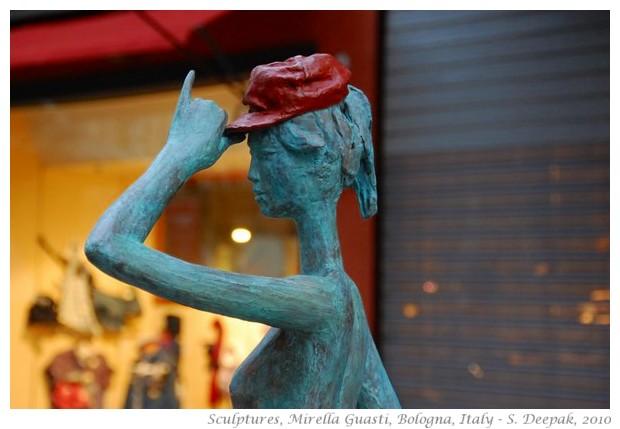 Sculptures by Mirella Guasti, Bologna - S. Deepak, 2010
