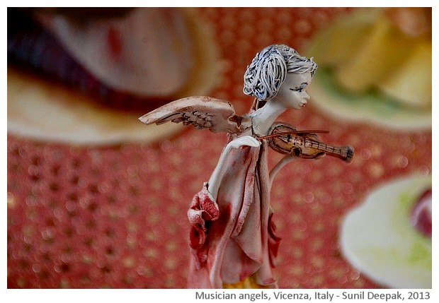 Musician Angels, Vicenza, Italy - images by Sunil Deepak, 2013