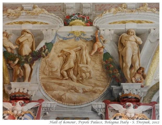 Frescoes from Pepoli palace - S. Deepak, 2012
