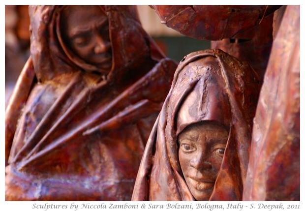 Sculptures by Nizzola Zamboni & Sara Bolzani, Bologna, Italy - S. Deepak, 2011