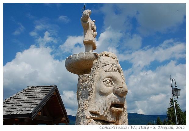 Sculptures, Conca Tresca (VI) Italy - S. Deepak, 2012