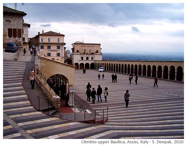 Stairs, Assisi Italy - S. Deepak, 2010