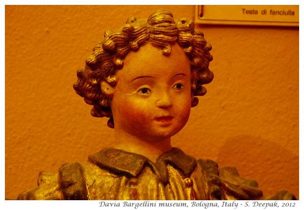 Statues, Davia Bargellini museum, Bologna, Italy - S. Deepak, 2012