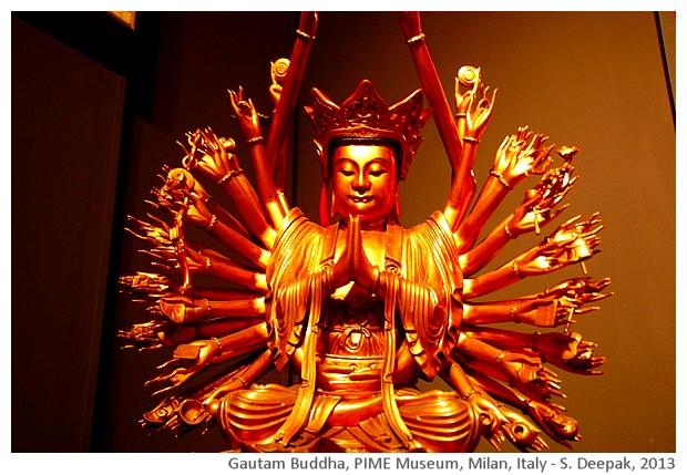 Gyuanyin Buddha with 1000 arms, PIME, Milan, Italy - S. Deepak, 2013