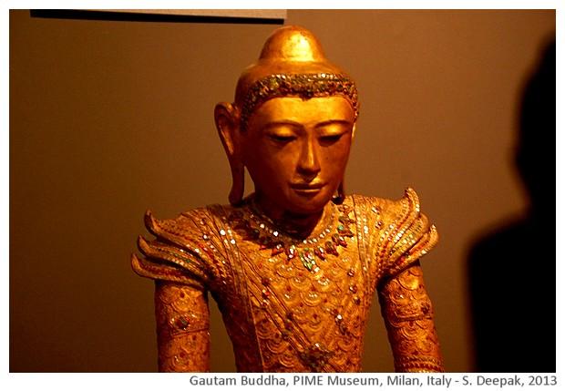 Prince Buddha Cambodia, PIME, Milan, Italy - S. Deepak, 2013