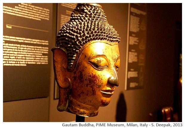 Gandhar Buddha, PIME, Milan, Italy - S. Deepak, 2013
