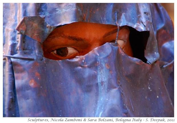 Sculptures, Nizola Zamboni & Sara Bolzani, Bologna, Italy - S. Deepak, 2011