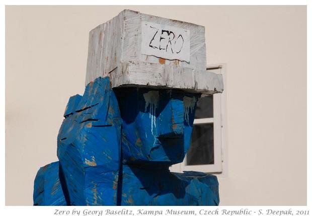 Zero by Georg Baselitz - S. Deepak, 2011