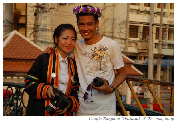 Thai photographer couple, Bangkok - S. Deepak, 2009