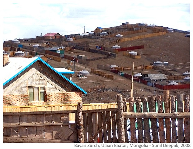 Bayanzurch, Ulaan Baatar, Mongolia - images by Sunil Deepak, 2014