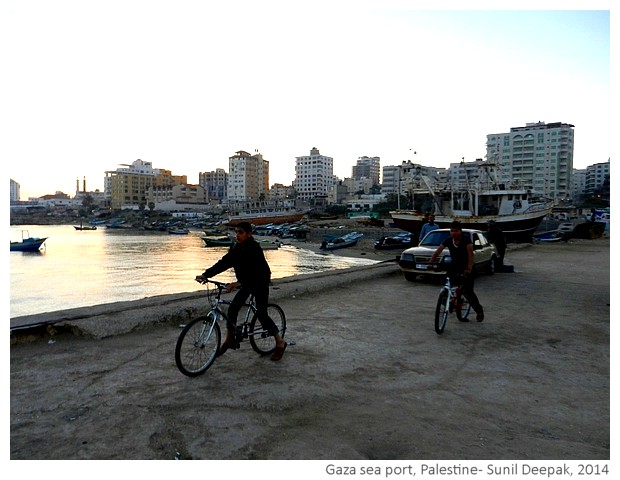 El Mina, Gaza sea port