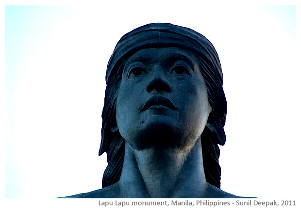 Lapu Lapu monument, Manila, Philippines - images by Sunil Deepak, 2011