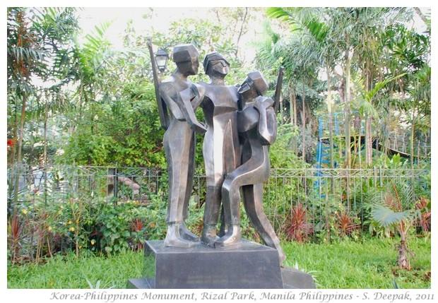 Philippine-Korea memorial, Rizal Park, Manila - S. Deepak, 2011