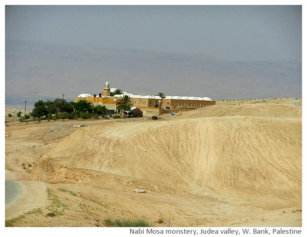 Nabi mosa monastery & mosque, West Bank, Palestine