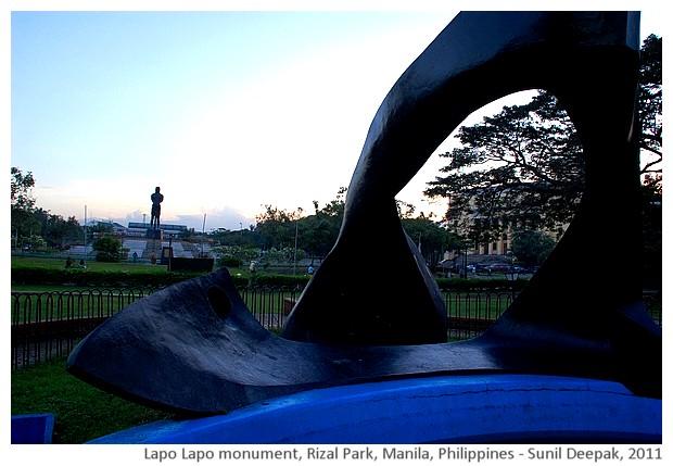 Lapo Lapo monument, Rizal park, Manila, Philippines - images by Sunil Deepak, 2011