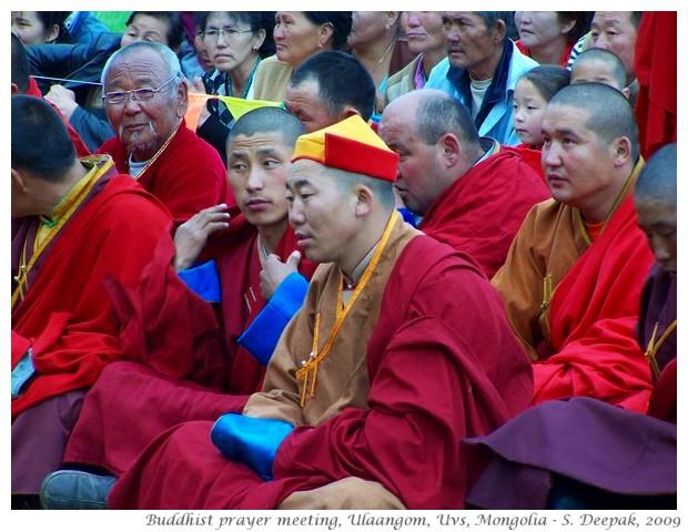Buddhist monks, Ulaangom, Mongolia - S. Deepak, 2009