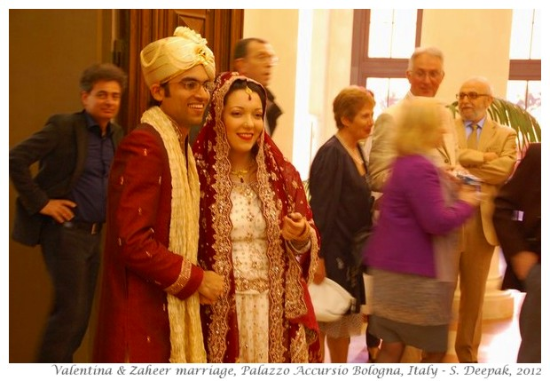 Marriage of Valentina and Zaheer, Bologna, Italy - S. Deepak, 2012