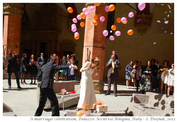 Marriage in Bologna, Italy - S. Deepak, 2012