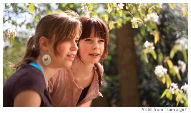 A still from I Am A Girl