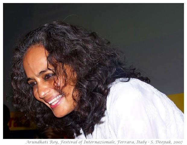 Arundhati Roy, Festival of Internazionale, Ferrara, Italy - S. Deepak, 2007