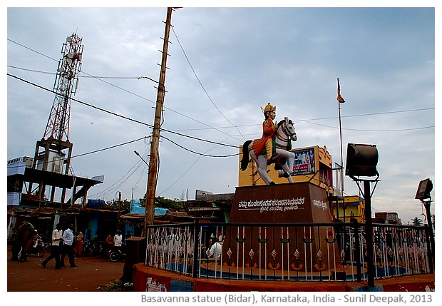 Basavanna and poet saints of Karnataka - images by Sunil Deepak, 2013