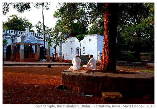 Basavanna shiva temple, Basavkalyan, Karnataka - images by Sunil Deepak, 2013