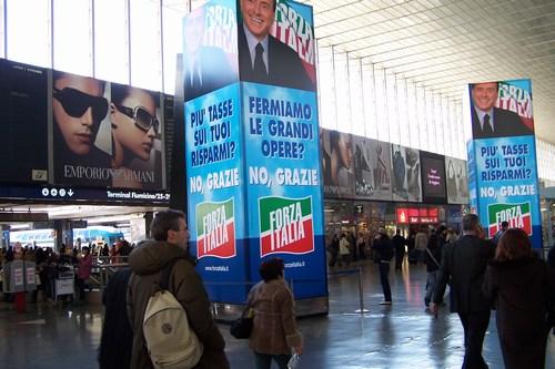 Berlusconi posters