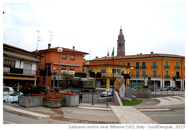 Latisana centre, Veneto region, Italy - images by Sunil Deepak, 2013