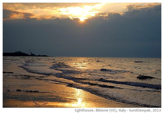 Beach, Bibione, Veneto region, Italy - images by Sunil Deepak, 2013