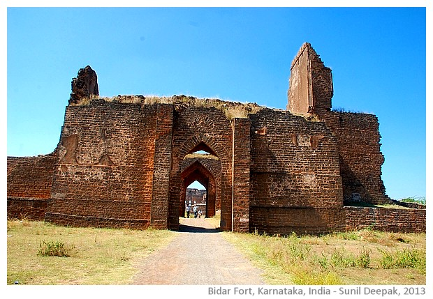 Fort, Bidar, Karnataka, India - images by Sunil Deepak