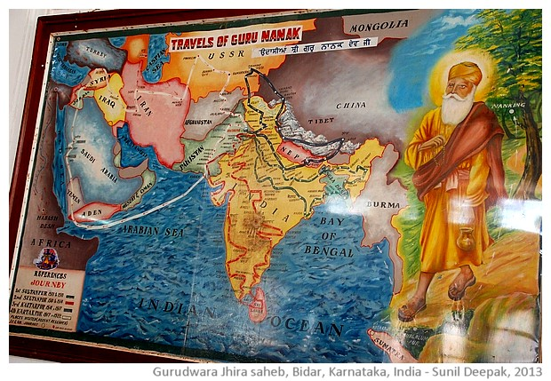 Guru Nanak's journeys, Nanak Jhira Saheb, Bidar, Karnataka, India - images by Sunil Deepak