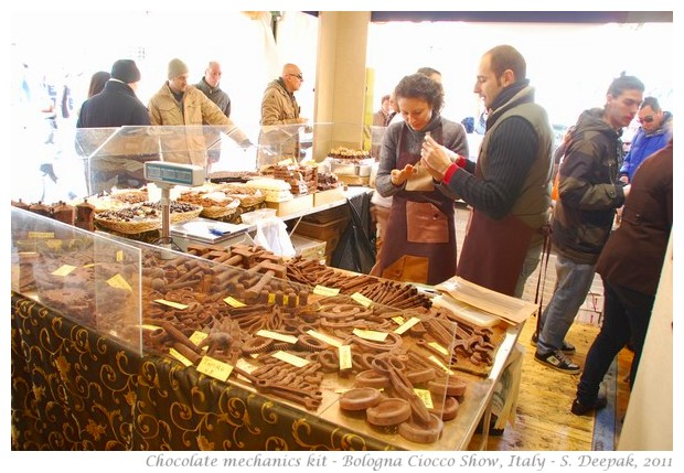 Bologna chocolate fair - S. Deepak, 2011