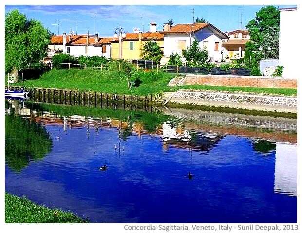 Lemene river, Concordia-Sagittaria, Veneto, Italy - images by Sunil Deepak, 2013