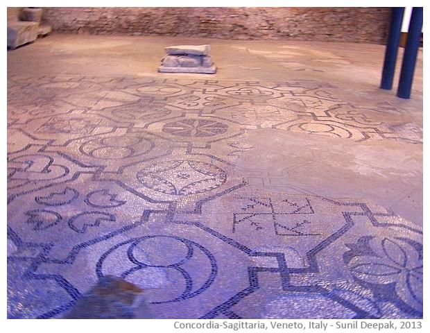 Roman ruins, Concordia-Sagittaria, Veneto, Italy - images by Sunil Deepak, 2013