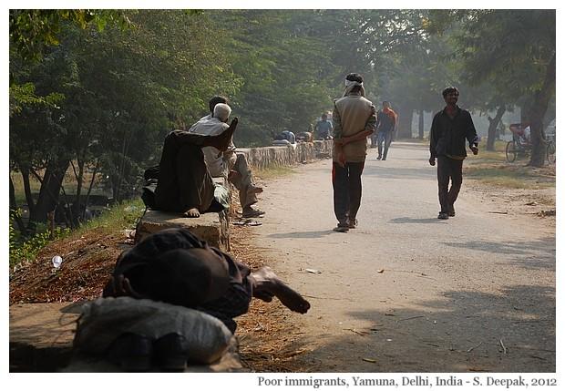 Pollution Yamuna river, Delhi