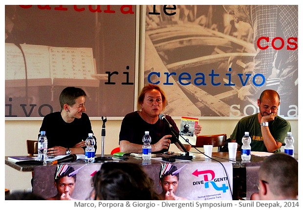 Divergenti symposium Bologna Italy - images by Sunil Deepak, 2014