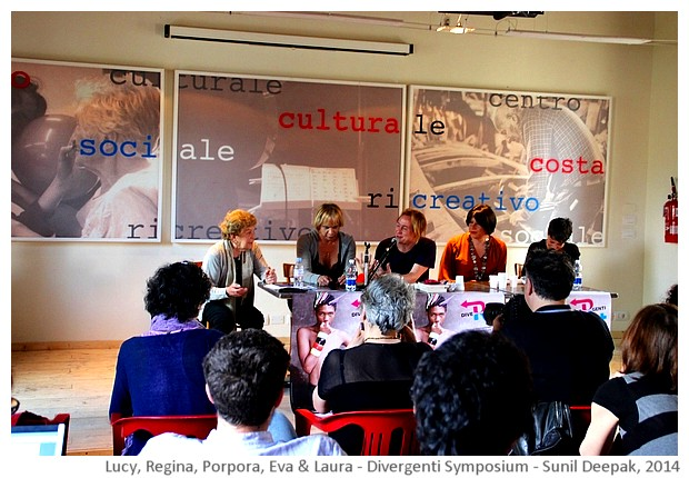 Divergenti symposium Bologna Italy - images by Sunil Deepak, 2014