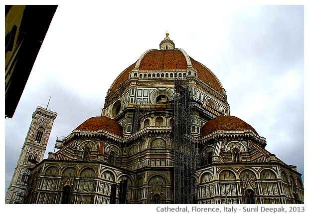 Places to see in Florence - images by Sunil Deepak, 2013