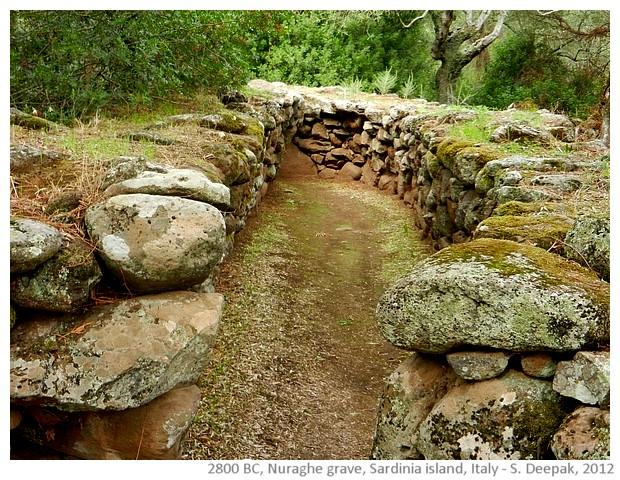 Nuraghe grave, Santa Cristina, Sardinia, Italy - S. Deepak, 2012