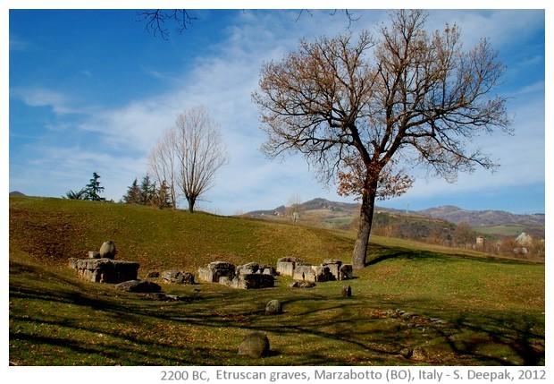 Etruscan grave, Marzabotto (BO) Italy - S. Deepak, 2012