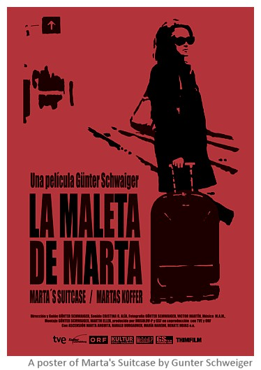 Stills from Marta's suitcase, documentary by Gunter Schweiger